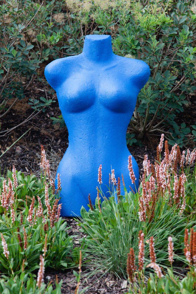 Die blaue Dame