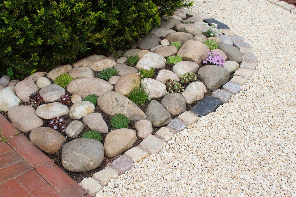 Ein kleiner Steingarten